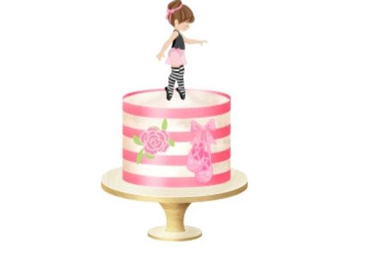 """Торт """"Балерина"""" от 3 кг"""