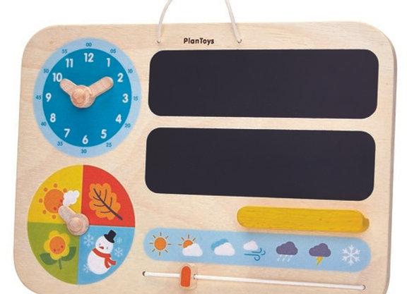 Доска календарь Plan Toys