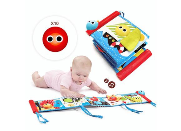 Книжка интерактивная для малышей Yookidoo
