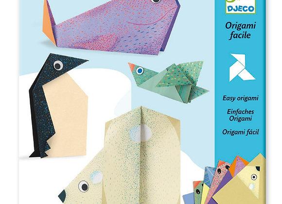 """Оригами """"Полярные животные"""" Djeco"""