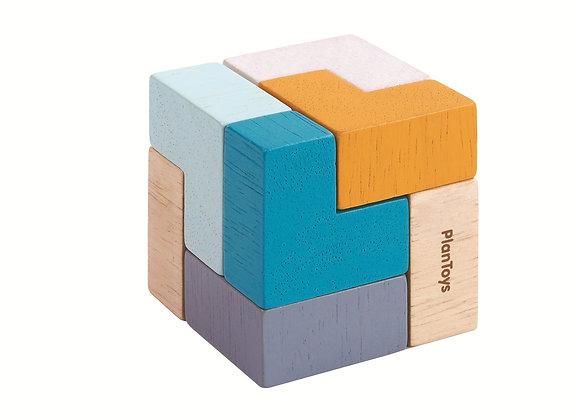 Мини-игра Plan Toys 3D пазл-куб