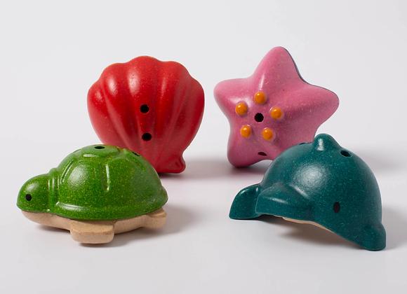 Подводные жители Plan Toys