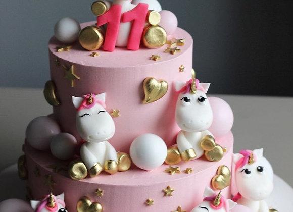 """Торт """"Единорожка"""" от 3 кг"""