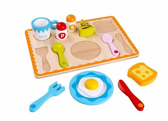 Игровой набор завтрак Tooky Toy