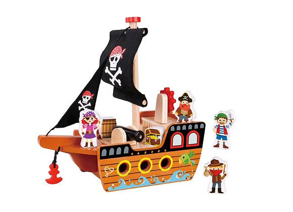 """Набор """"Пиратский корабль"""" Tooky Toy"""