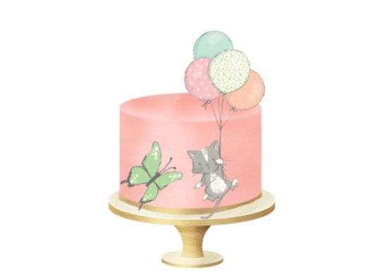 Торт Котенок от 2.5кг