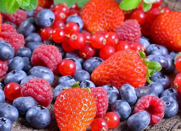 Свежие ягоды 250 гр.