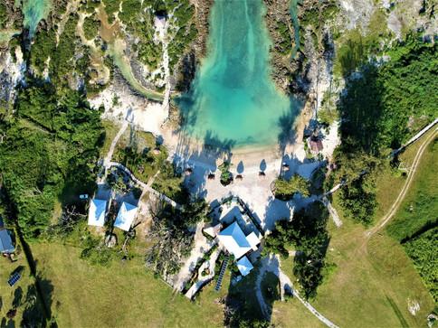 Birds eye view of the stunning resort
