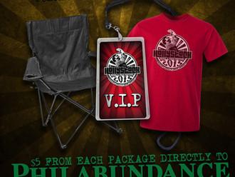 Hollystock 2015 VIP Package