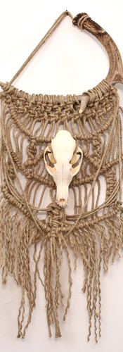 Woven Red Fox and Antler