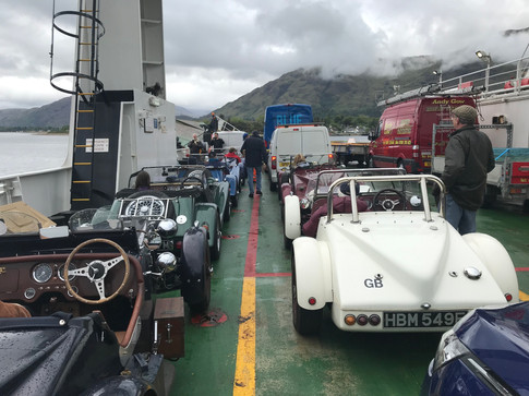 NGs on Corran Ferry