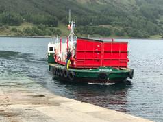 The Skye ferry arrives