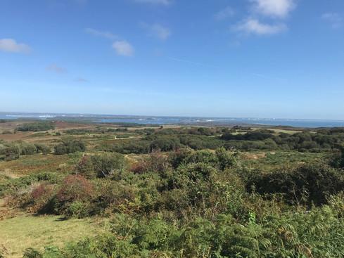 View of Studland Bay