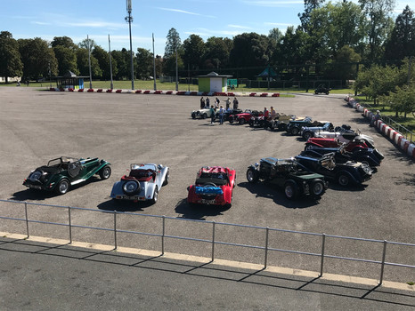 NGs in the arena at Beaulieu
