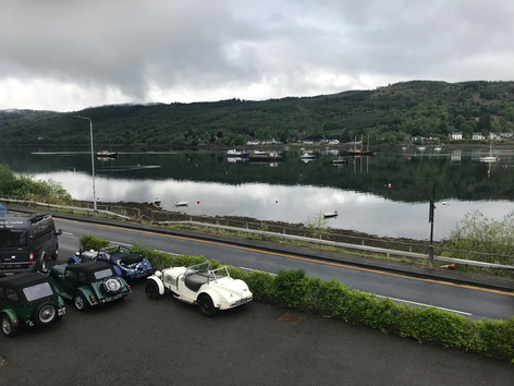 View from the Anchor Inn, Garelochhead