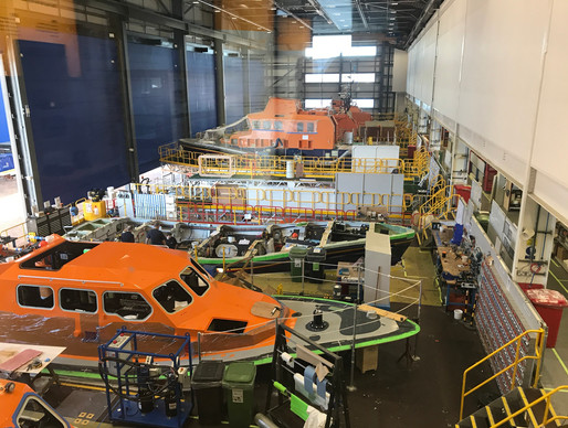 The RNLI All Weather Lifeboat Centre at Poole