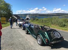 Return ferry from Mull
