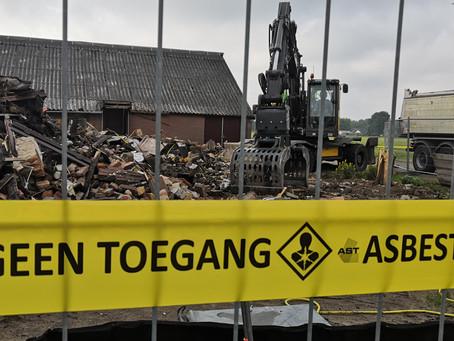 Asbest- en sloopwerkzaamheden brandschade Oldebroek