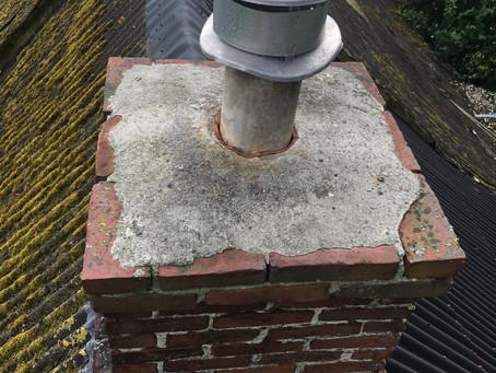 Asbest- en sloopwerkzaamheden instabiele schoorsteen Harkstede