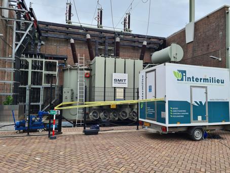 Asbestsanering transformator Royal SMIT Transformers B.V. Waalwijk