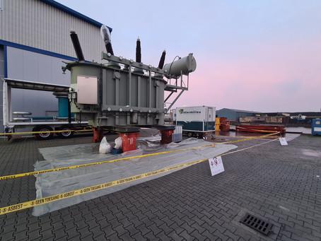 Asbestsanering tweetal transformatoren Royal SMIT Transformers B.V. Nijmegen