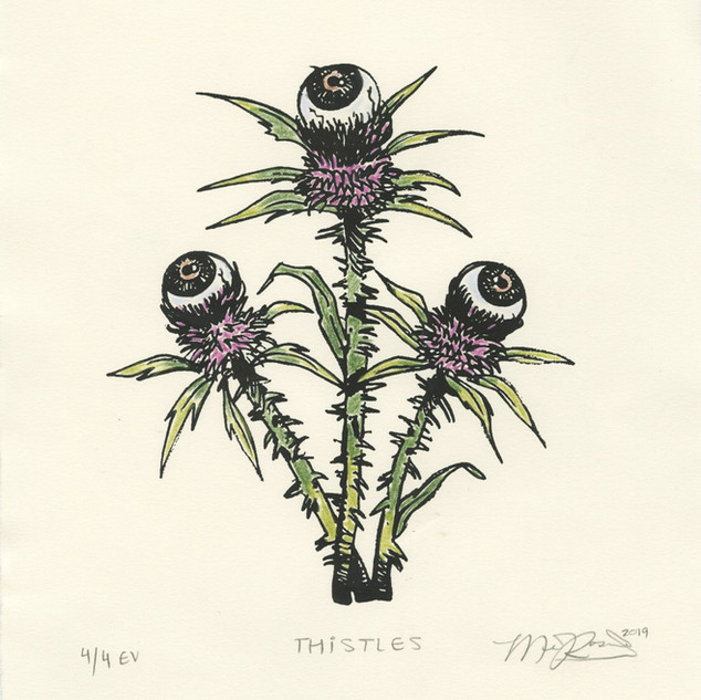 Thistles (Colored