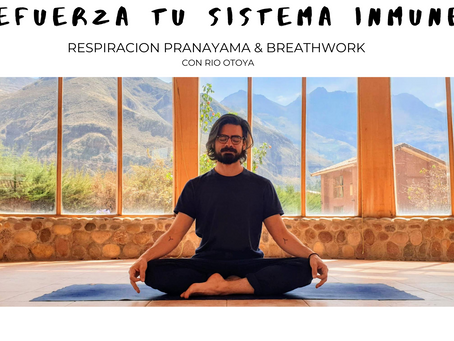 RESPIRA Y REFUERZA TU SISTEMA INMUNE - Clase online grabada.