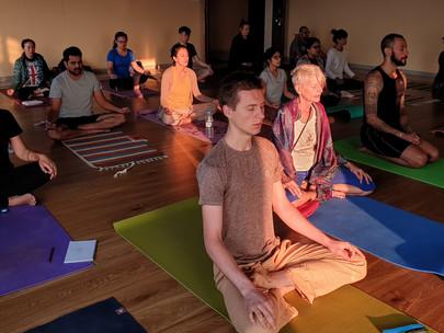 How Pranayama help us prepare for Meditation.