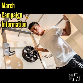 3月キャンペーン情報