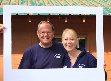 Our Foundes Bruce and Annemarie Albiston