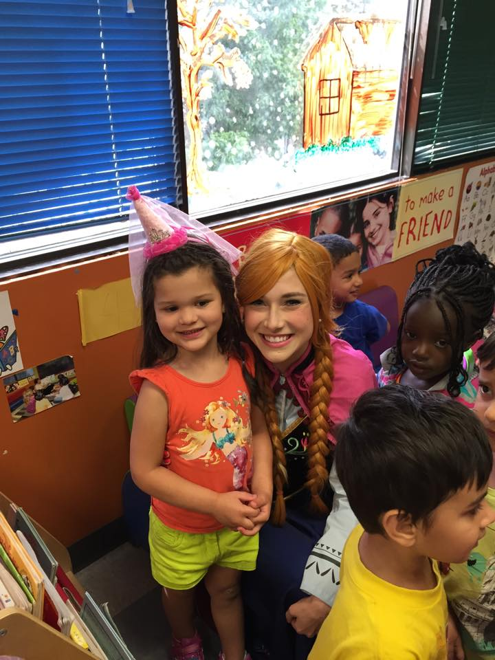 Anna Visits Alysiana's Daycare