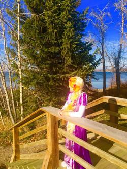 Beautiful Day in Sylvan Lake