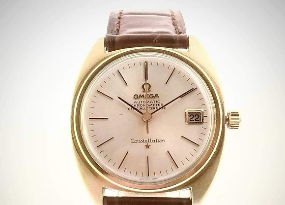 Omega Constellation, Gold, Cal. 264, 1967, 24 jewels, quickset date, chronometer