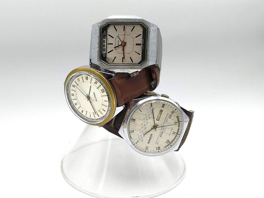 3 Russian Tool watches and the Theory of Inventive problem Solving
