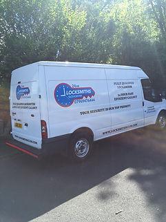 Locksmiths Gloucester Work Van