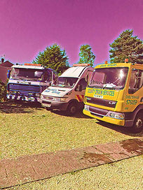 County Drain Services Van Tanker and Lorry