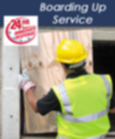 24 hour boarding up service