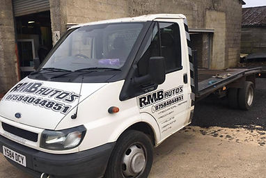 RMB Autos recovery truck