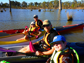 Paddling with the Family