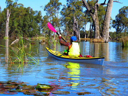a safe and fun place to paddle