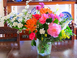 Flowers from Gunbower Cotage