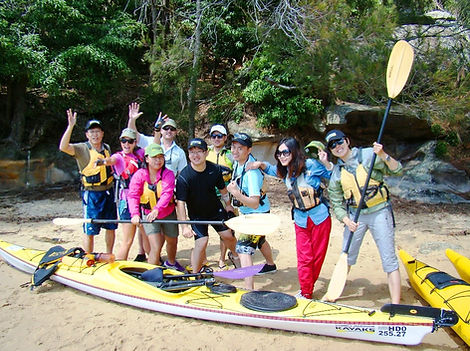 Sydney Harbour Kayaks Eco Tour