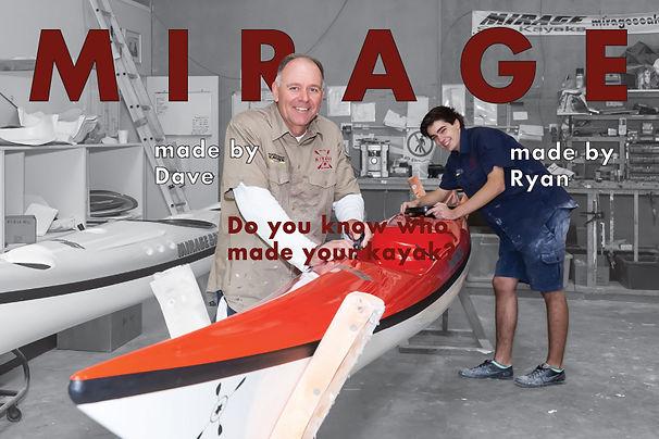 Mirage Sea Kayaks Australia