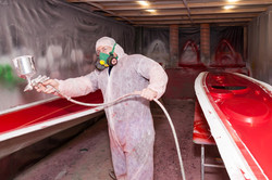 Spraying Molds