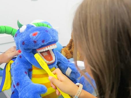 Ir ao dentista pode ser uma brincadeira!