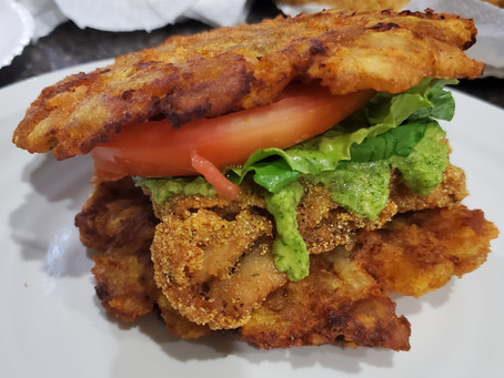 Playing in the Kitchen: Fried Fish Patacon
