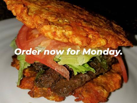 Mojito Steak Patacon. ORDER NOW