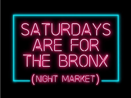 Catch us at the Bronx Night Market 9/29 5pm-10pm