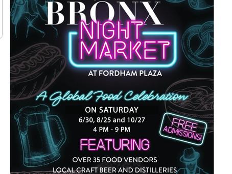 CaSpanish at the Bronx Night Market June 30th!!