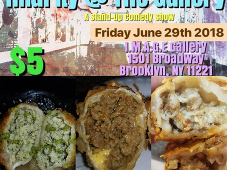 CaSpanish at Hilarity at the Gallery in Brooklyn June 29th.